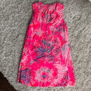 Lilly Pulitzer Pink Summer Tank Dress
